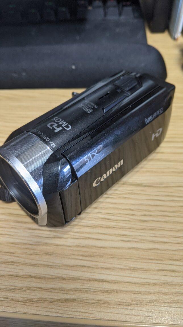 キヤノンデジタルビデオカメラiVISHFR32(黒)